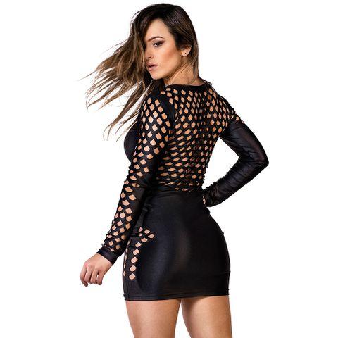 Vestido_Black_Grid_Labellamafia