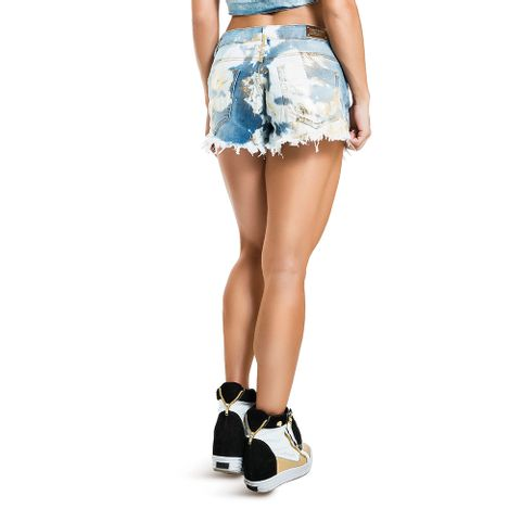 short_saia_jeans_spikes_pocket_labellamafia