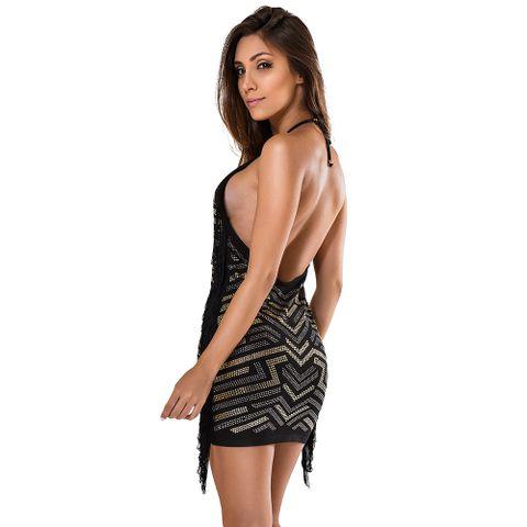 Vestido_Fringes_Side_Labellamafia