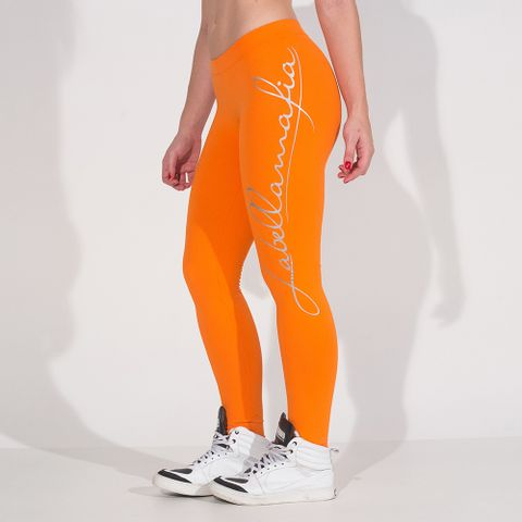 Legging-Pro-Athlete-Orange-Labellamafia