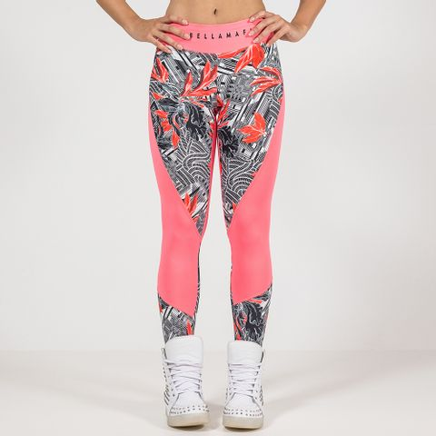 Legging-Pink-Abstract-Labellamafia