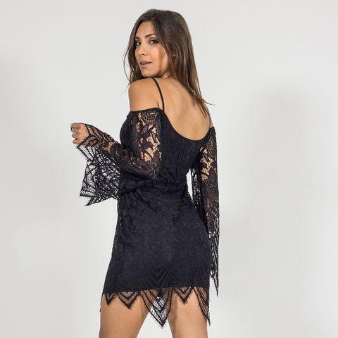 Vestido-Black-Fringes-Labellamafia