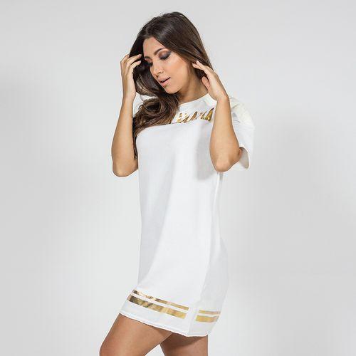 Vestido-Gold-Stripes-Labellamafia