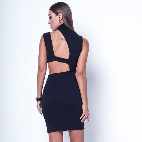 Vestido-Black-Spikes-Labellamafia