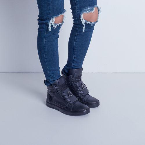 Sneaker-Boot-Triangle-Black-Labellamafia