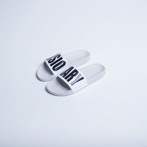 Chinelo-Slide-Visionary-White-La-Mafia
