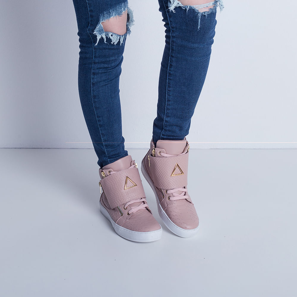 Sneaker-Boot-Zipper-Rose-Labellamafia