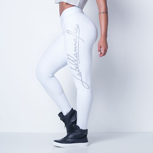 Legging-Hardcore-Ladies-Silver-Labellamafia
