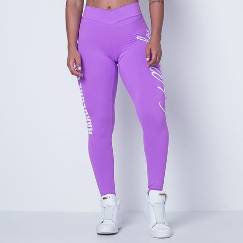 Legging-Hardcore-Ladies-Purple-Labellamafia