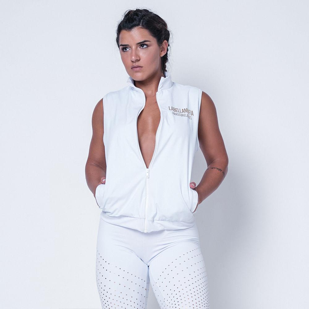 Colete-Fitness-Classic-White-Labellamafia