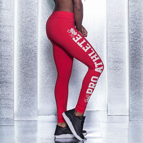Legging-Pro-Athlete-Red-Labellamafia
