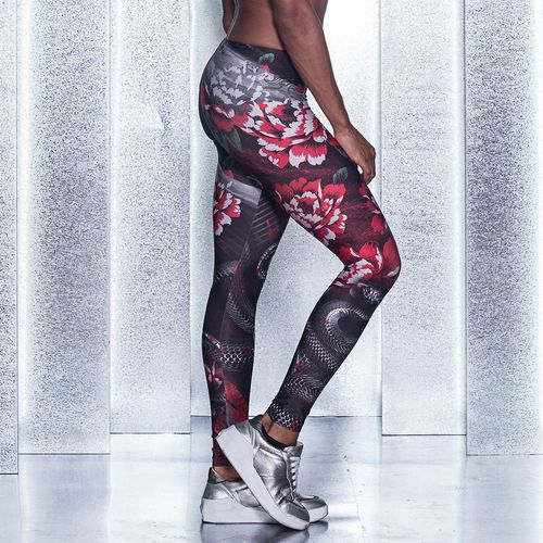 Legging-Los-Angeles-Ink-Black-Rose-Labellamafia