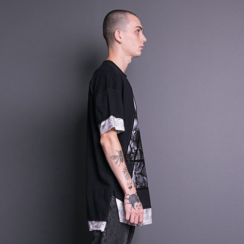 Camiseta-Skull-La-Mafia