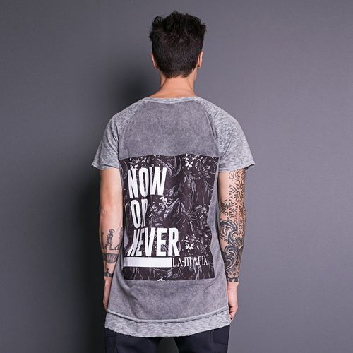 Camiseta-Now-Or-Never-La-Mafia