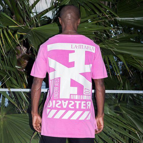 Camiseta-Fluor-Disaster-La-Mafia