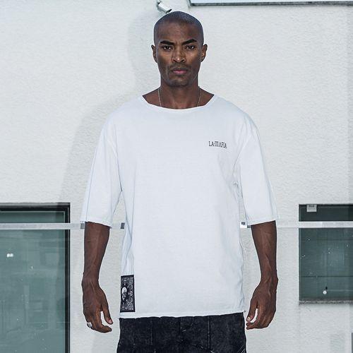 Camiseta-White-Triangle-La-Mafia