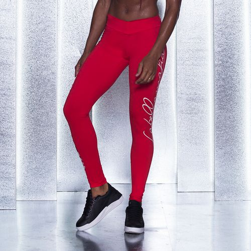 Legging-Pro-Athlete-Red--Labellamafia