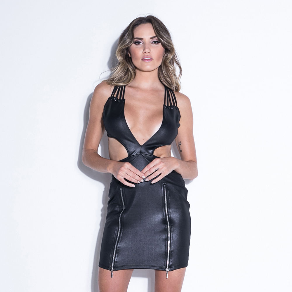 Vestido-Ink-Black-Zipper-Labellamafia
