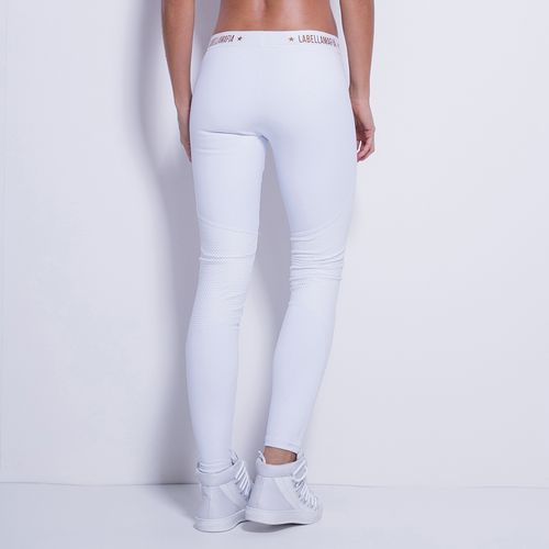 Legging-Shiny-Soul-Blanc-Labellamafia