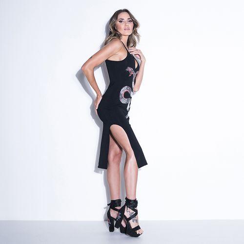 Vestido-Longo-Ink-Snake-s-Labellamafia