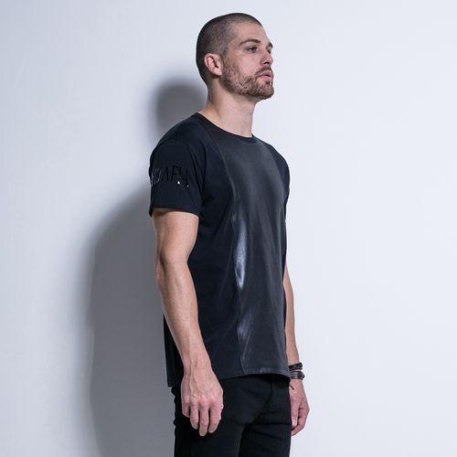 Camiseta-Textures-We-Don-t-Play-Black-La-Mafia