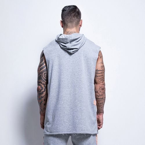 Blusa-Athleisure-Hard-To-Kill-Gray-La-Mafia
