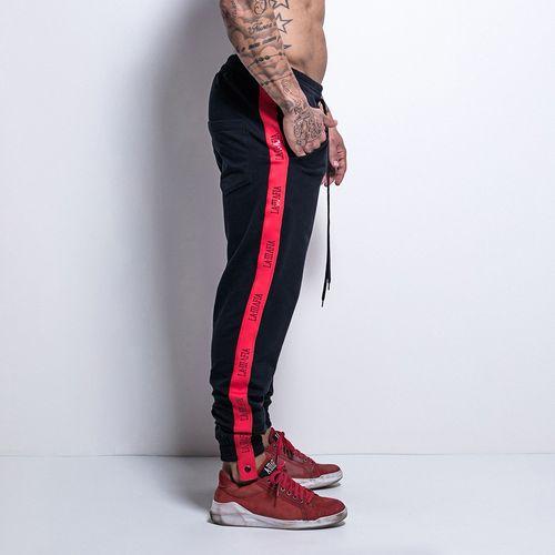 Calca-Sweat-Athleisure-Black-and-Red-La-Mafia