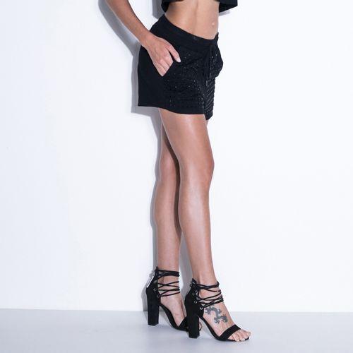 Shorts-Black-Lights-Lucky-Girl--Labellamafia