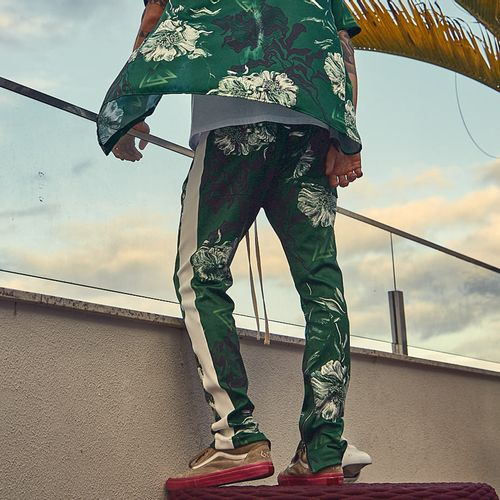 Track-Pants-La-Mafia-Green-Flowers