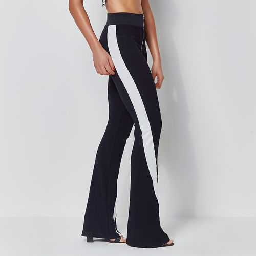 Track-Pants-Labellamafia-Flare-Black-