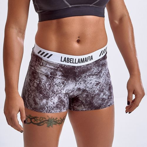 Shorts-Cross-Training-Grey-Stone-Iron-Labellamafia