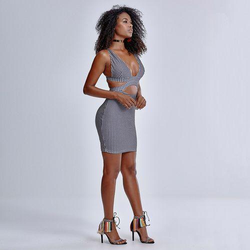 Vestido-Vichy