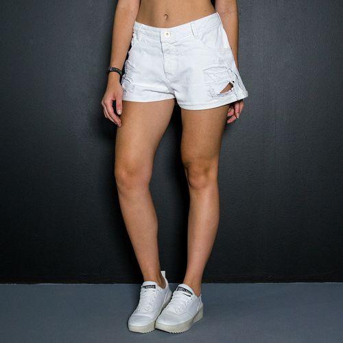 Shorts-Jeans-Labellamafia-Golden