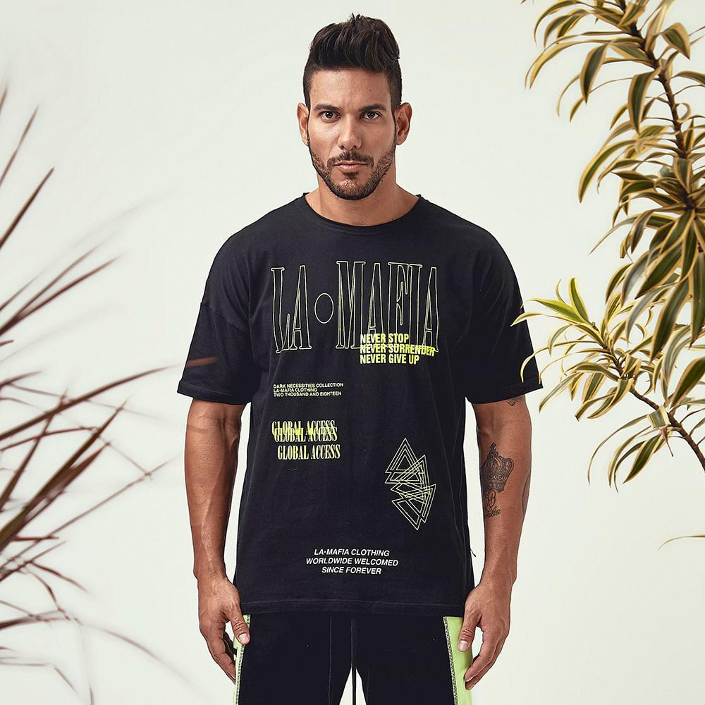 Camiseta-Road-Rapstar-White-Black-and-Green---P