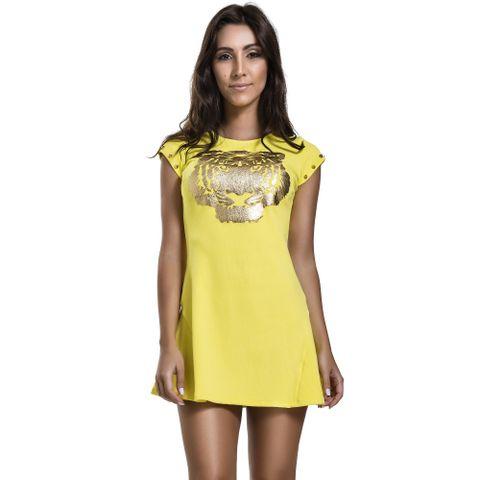 vestido-animalistic-yellow-labellamafia