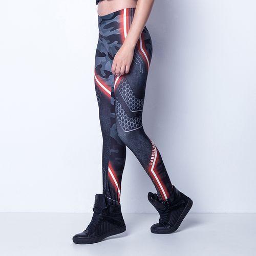 Legging-Red-Reflective-Labellamafia