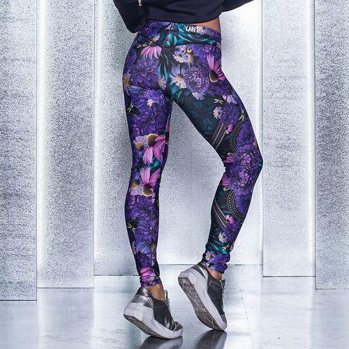 Legging-Neutral-Flowers-Oasis-Purple-Labellamafia