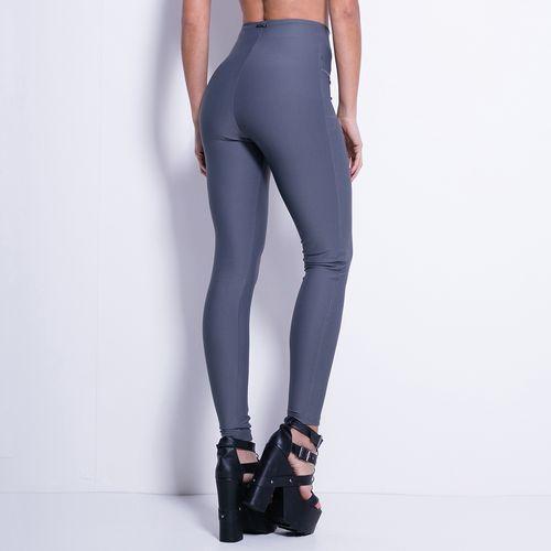 Calca-Legging-Labellamafia-Deep-Zip-Gray