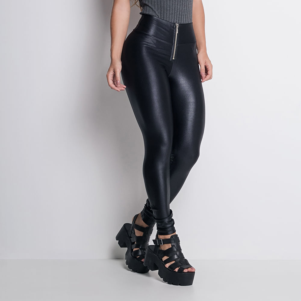 0b6a6810e Calça Legging Labellamafia Ultra High Pants Black - Labellamafia