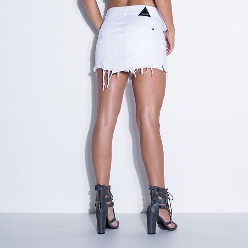 Saia-Jeans-Labellamafia-White