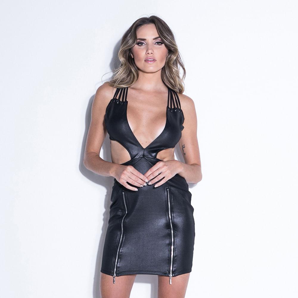 Vestido-Ink-Black-Zipper-Labellamafia
