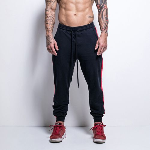 Calca-Sweat-Athleisure-Black-and-Red-La-Mafia
