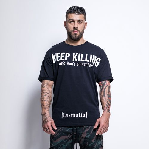 Camiseta-Street-Keep-Killing-II-La-Mafia