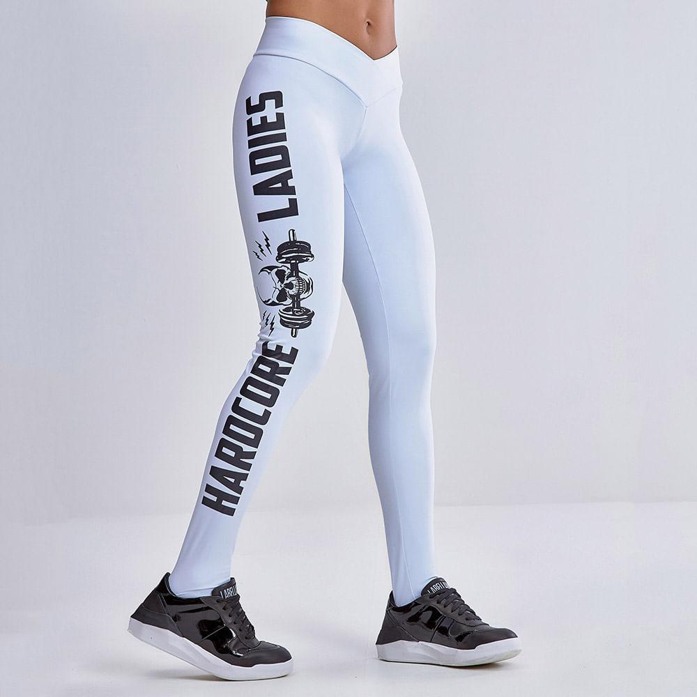 Legging-Emana-Hardcore-Ladies-White
