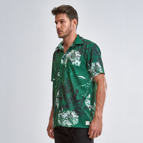 Camisa-Green-Flowers