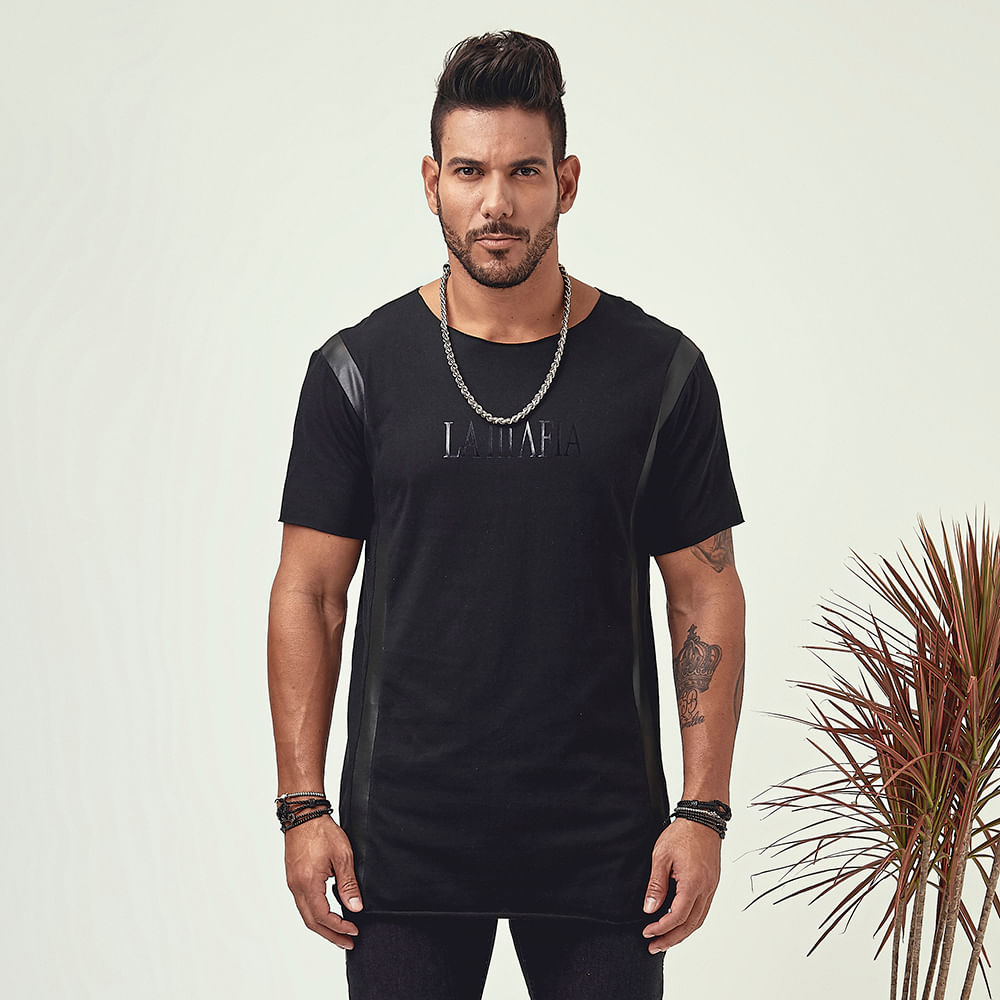 Camiseta Fast Life Black - P