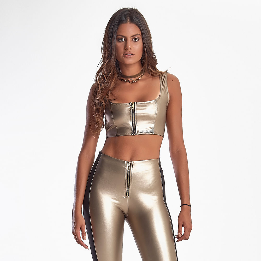 Top-Feminino-Metallic-Golden