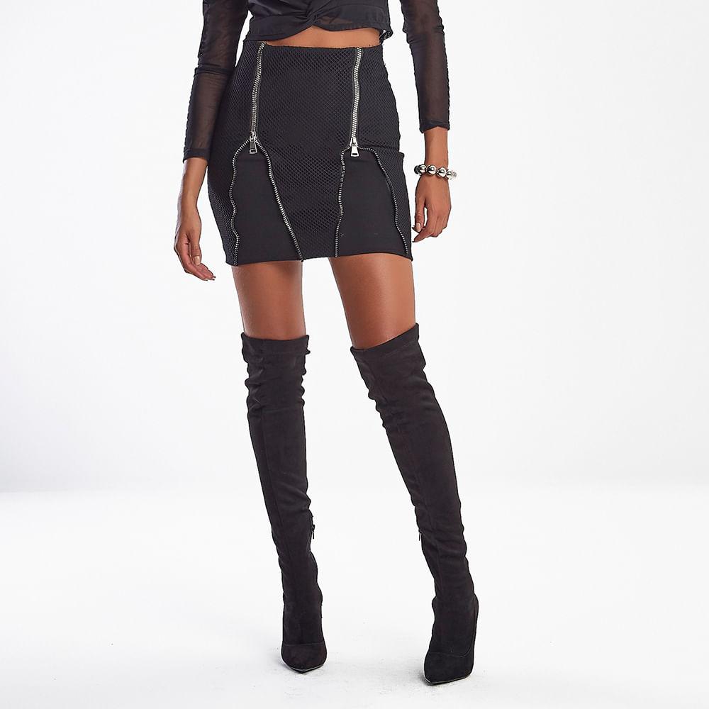 Saia-Feminina-Kim-Style-Black-