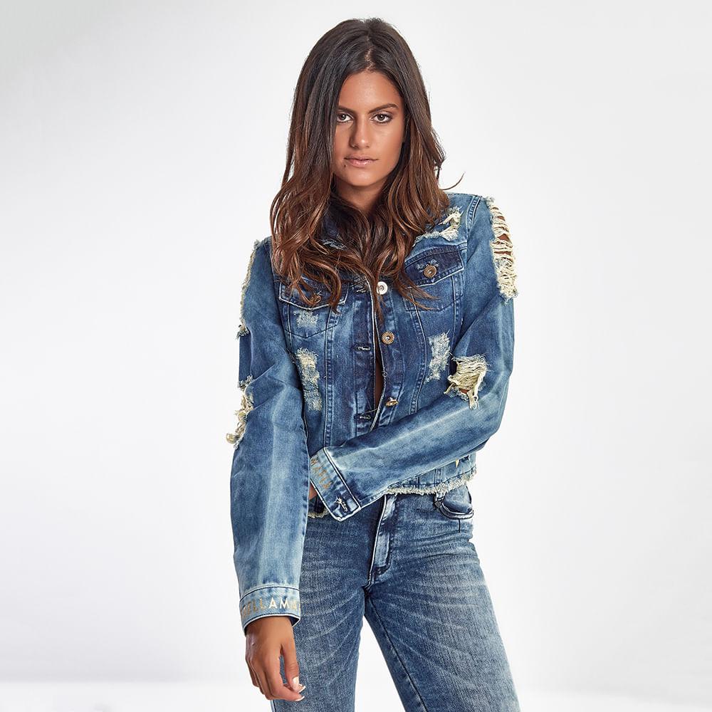 Jaqueta-Jeans-Feminina-Destroyed-Blue---P