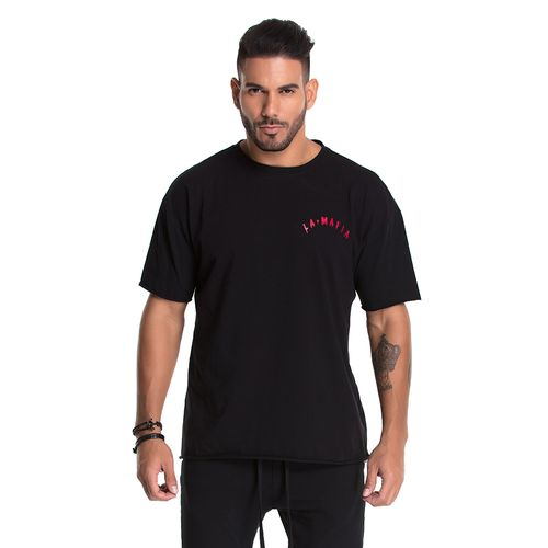 Camiseta-La-Mafia-Melting-Black---P